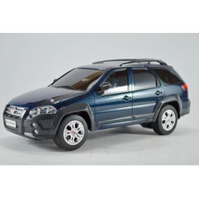 Fiat Palio Weekend Adventure Azul 1:18 Seminovo R/c