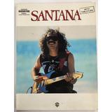 Libro Santana Exitos Transcripción Tablatura Para Guitarra