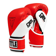 Guantes De Box Title Gel Series Piel 14,16 Y 18 Oz