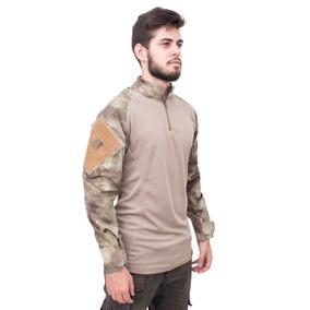 Camisa Tática De Combate Raptor A-tacs Au Ripstop - Invictus