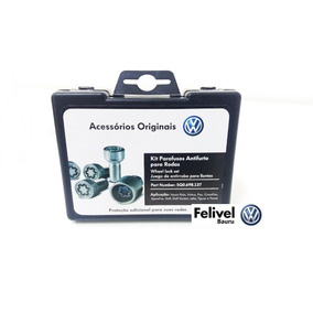 Kit Parafuso Anti Furto Novo Polo Fox Golf Jetta 5q0698137