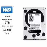 Disco Duro Western Digital Black, 2tb, Sata 6 Gb/s, 7200 Rpm