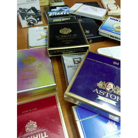 Lote Box Cigarrillos Importadas Soft Varias Coleccion
