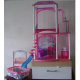 Casa De Barbie Con Piscina Y Columpio