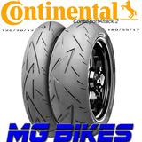 Cubiertas Continental Sport Attack 2 180/55-17 120/70-17 Mg