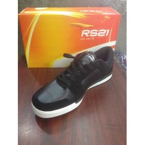 Zapatos Rs21 Corte Bajo Tipo Skate Comodos Y Duraderos 2017