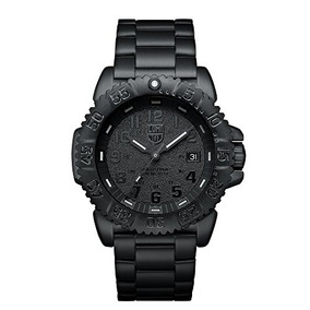Negro Pvd Reloj A.3152.bo Luminox Navy Seal Mar Acero Color
