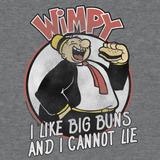Camiseta Luv Wimpy Me Gusta Big Buns Camiseta Con Licenci...