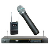 Microfono De Mano Inalambrico Uhf Mipro Mr-823/mh-801 No Vhf