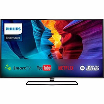 Tv Philips 40 Smart Ultra Hd 4k. Na Caixa, (tela Quebrada)