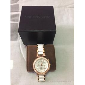 Reloj Dama Michael Kors Parker Oro Rosado Mk5774-original