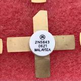 2n5643 - Transistores De Rf De Potência Para Vhf Ref.unidade