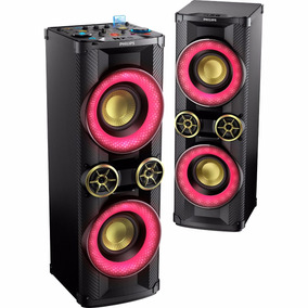 Caixa Som Mini System Dj Pick-up Philips 3200w Ntx800x/78