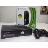 Xbox 360 Rgh Slim 4g Semi-novo Na Caixa
