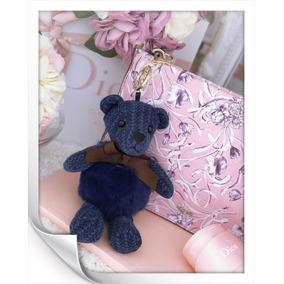 Chaveiro Grife Europeia Miss 101 Urso Azul