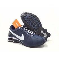Tênis Nike Shox Júnior Masculino Original 4 Molas Promoção