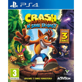 Crash Bandicoot Trilogy Ps4 Jugas Con El Mio