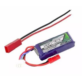 Bateria Lipo 300 2s 35~70c Turnigy + Jst (4un Frete Gratis*)