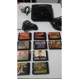 Vídeo Game Mega Drive Llll Com 16 Jogos E 2 Controles