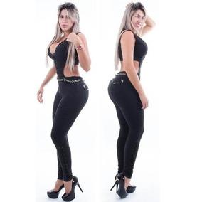 Macacao Preto Pit Bull Jeans Pitbull 22328 Tam. M