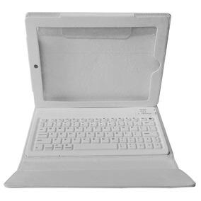 Capa Teclado Bluetooth Ipad 2 3 E 4 Grande Dobrável De Couro