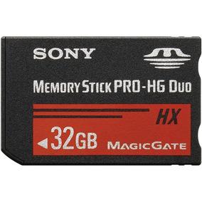 Ms-hx32b Memory Stick Pro Duo Hg 32gb Alta Velocidad 4k