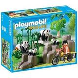 Juguete Playmobil 5414 Panda En El Bosque De Bambu Oferta
