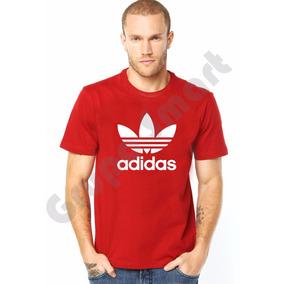 Camisa Camiseta adidas Personalizada Promoção Algodão
