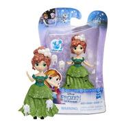 Miniatura Anna - Frozen 2 - Little Kingdom- Hasbro