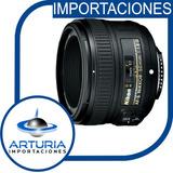 Nikon 50 Mm 1.8g Af-s D3200 D3100 D5200 D5100 7100 Y Mas Ref