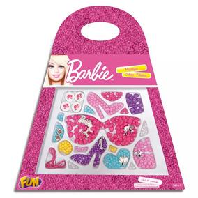 Bolsinha De Miçanga Barbie Pulseira Colar 7614-4 Fun