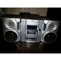 Micro System Cce Mp3 Dvd Vídeo Karaokê 2500 W Pmpo 40 W Rms