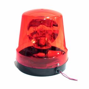 Sinalizador Rotativo Giroflex Rt19 12v Vermelho - Rontan