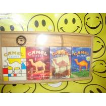 Camel Exhibidor Madera Acrilico Cajetillas Unico D Coleccion