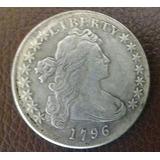 Dolar Draped Bust 1796 Réplica