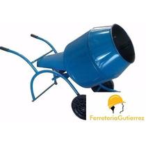 Hormigonera Trompo Con Motor 2 Años Garantia Oferta!!