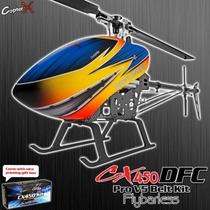 Kit Helicóptero Copterx Cx 450pro V5 Dfc Flybarless Belt
