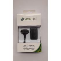 Kit Carga Y Juega Xbox 360 Generico Nuevo, Cerrado En Caja