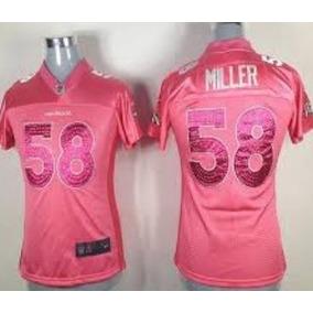 Nfl Denver Broncos Von Miller Feminino Pronta Entrega. R  204 99. 12x R   19. Frete grátis para todo o país 635f10bb15cd4