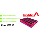 Pedalboard Doble A® - Modelo Eco 40-4 (incluye Estuche)