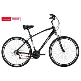 Bicicleta Chicago, Aro 700, 21 Marchas - Preta - Schwinn