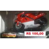 Miniatura De Moto Yamaha 500 Yzr # 4 Moto Gp - 1/18 - Nova