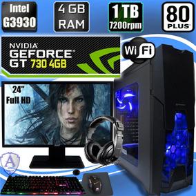 Pc Gamer G3930 Geforce Gt 730 4gb 1tb Hd 4gb Acer 24 N25