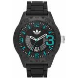 Hombres adidas Originals Newburgh Negro Vínculo Reloj