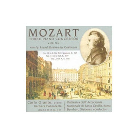 Mozart/orchestra Dell Accademia/sieberer Mozart Piano Concer