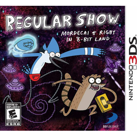 Mordecai Rigby Un Show Mas Cartoon Network Nintendo 3ds