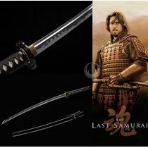 Katana Afiada Para Corte Espada O Último Samurai Forjada Aço