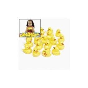 20 Tabuladas Plástico Amarillo Ducks Carnaval Juego De Las P