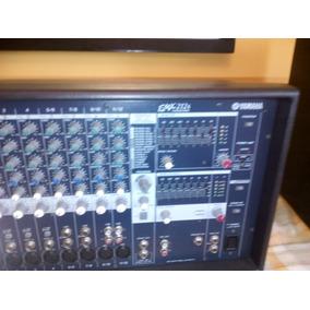 Consola Amplificada Yamaha Super Combo Con Microfonos