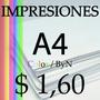 Impresiones A4